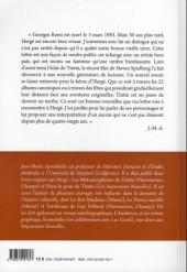 Verso de (AUT) Hergé -93- Lettre à Hergé