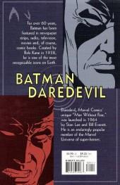 Verso de Batman/Daredevil (2000) -GN- King of New York