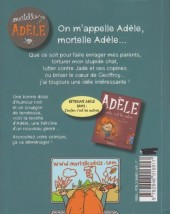 Verso de Mortelle Adèle -1- Tout ça finira mal