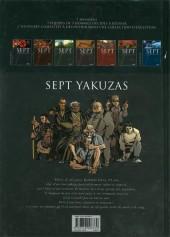 Verso de Sept -6a- Sept Yakuzas