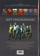 Verso de Sept -1a- Sept psychopathes