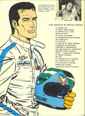 Verso de Michel Vaillant -1c1972- Le grand défi