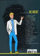 Verso de Ric Hochet - La collection (Hachette) -54- Le masque de la terreur