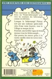 Verso de Les schtroumpfs (Hachette-Livre de poche) -14- Le schtroumpf sauveteur