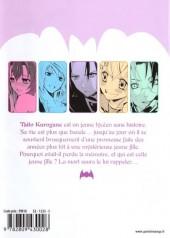 Verso de Dark Rabbit -1- Volume 1