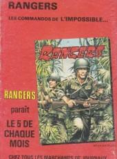 Verso de Z33 agent secret -152- Opération