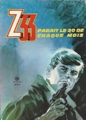 Verso de Z33 agent secret -84- Un homme chanceux