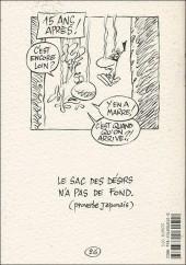 Verso de Le concombre masqué -HS06- Le sac à malices