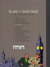 Verso de Blake et Mortimer - La collection (Hachette) -6- La Marque jaune