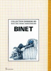 Verso de (AUT) Binet - Binet