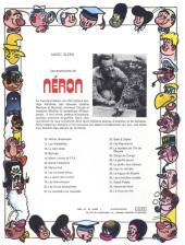 Verso de Néron et Cie (Les Aventures de) (Érasme) -33- Le virus du rire