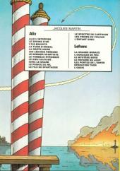 Verso de Lefranc -6a1981- Opération Thor