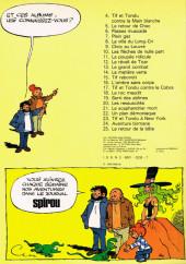 Verso de Tif et Tondu -5a1979- Le retour de Choc