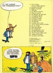 Verso de Tif et Tondu -7a1979- Plein gaz