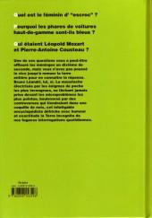 Verso de La grande encyclopédie du dérisoire -4- Tome 4