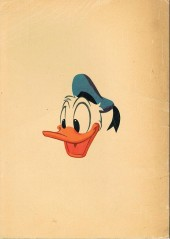 Verso de Votre série Mickey (2e série) - Albums Filmés ODEJ -6- Donald perdu dans les andes