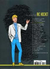 Verso de Ric Hochet - La collection (Hachette) -55- Qui a peur d'Hitchcock ?