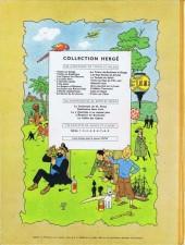 Verso de Tintin (Historique) -15B29- Tintin au pays de l'or noir