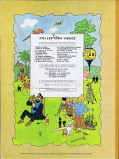 Verso de Tintin (Historique) -19B29- Coke en stock