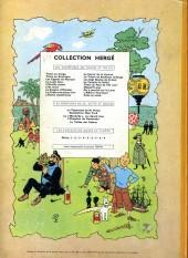 Verso de Tintin (Historique) -14B28- Le temple du soleil