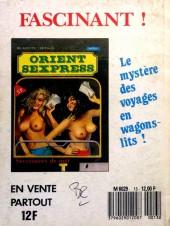 Verso de Culbutant (Novel Press) -13- Les filles de mon pays