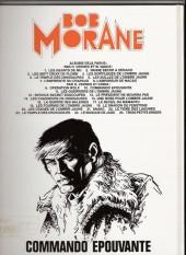 Verso de Bob Morane 3 (Lombard) -29a- Commando épouvante