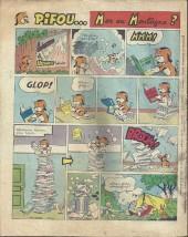 Verso de Vaillant (le journal le plus captivant) -1110- Vaillant