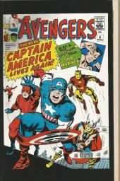 Verso de Captain America (Marvel comics - 1968) -400- Murder by decree!