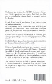Verso de (AUT) Hergé -155- La Vie Cachée de Tintin