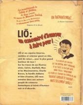 Verso de Liō (Les aventures extraordinaires de) -2- Le petit musée des horreurs de la crypte hantée