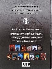 Verso de Zodiaque (Delcourt) -13- Le plan du Serpentaire