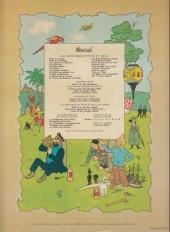 Verso de Tintin (Historique) -20B42- Tintin au Tibet