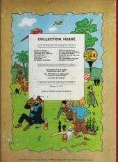Verso de Tintin (Historique) -7B21Bis- L'île noire