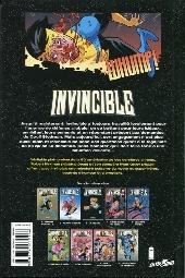 Verso de Invincible -9- Changement de rythme !
