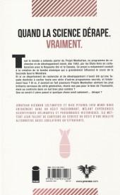 Verso de Projets Manhattan -1- Nouvelles expériences