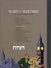 Verso de Blake et Mortimer - La collection (Hachette) -7- L'Énigme de l'Atlantide