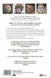 Verso de Locke & Key -4- Les Clés du royaume