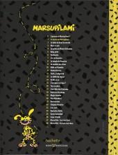 Verso de Marsupilami - La collection (Hachette) -1- La Queue du marsupilami