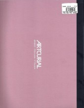 Verso de (Catalogues) Ventes aux enchères - Artcurial - Artcurial - Bandes dessinées - samedi 23 février 2013 - Paris hôtel Dassault
