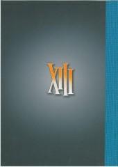 Verso de XIII -HS4TT2- Traquenards et sentiments