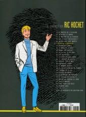 Verso de Ric Hochet - La collection (Hachette) -57- L'heure du kidnapping