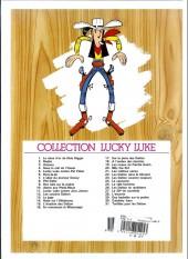 Verso de Lucky Luke -21e07- Les collines noires
