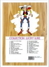 Verso de Lucky Luke -27d07- Le 20ème de cavalerie