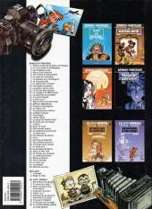 Verso de Spirou et Fantasio -20f2002- Le faiseur d'or