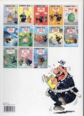 Verso de L'agent 212 -3a1992- Sens interdit
