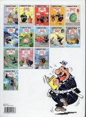 Verso de L'agent 212 -10a1992- Agent trouble