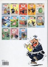 Verso de L'agent 212 -1a1991- 24 heures sur 24
