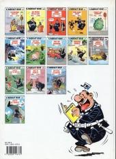 Verso de L'agent 212 -11a1992- Sifflez dans le ballon !