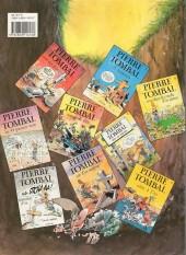 Verso de Pierre Tombal -5a1993- Ô suaires