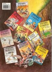 Verso de Pierre Tombal -9a1993- Voyage de n'os